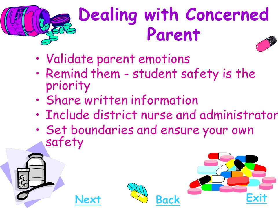Dealing with Concerned Parent