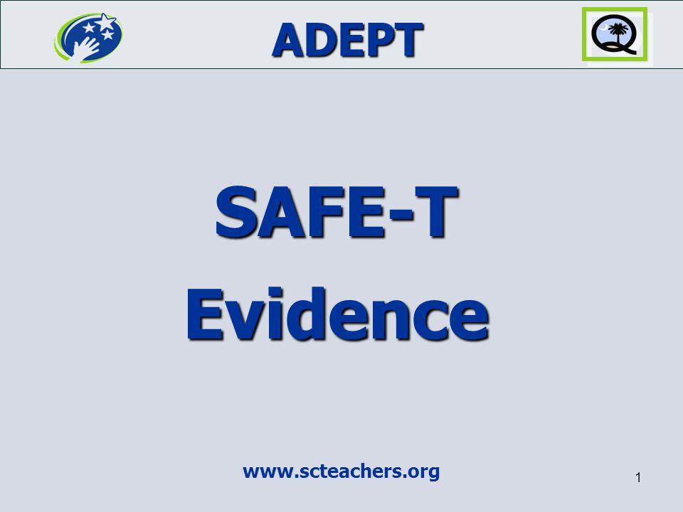 SAFE-T Evidence www.scteachers.org