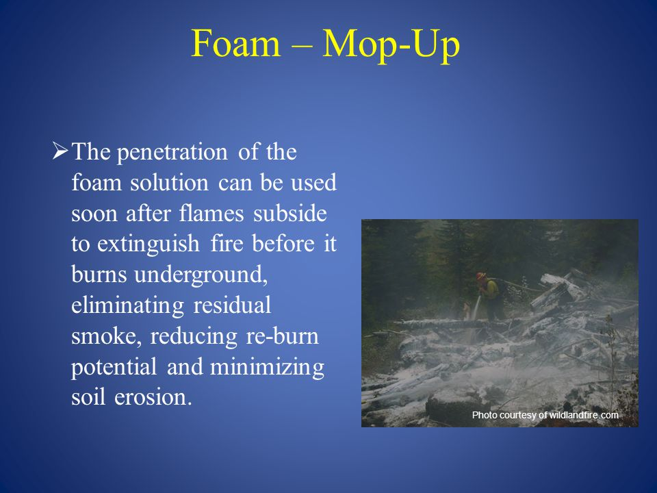 Foam – Mop-Up