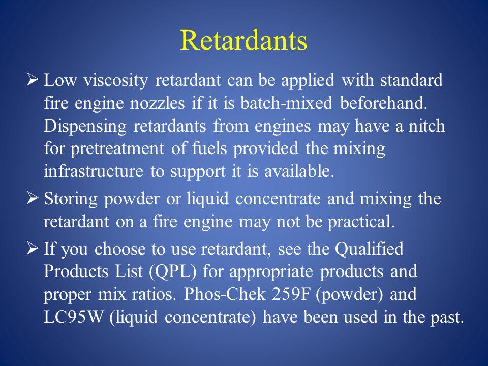 Retardants