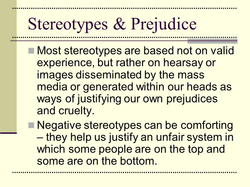 stereotypes and prejudice worksheet 7 essay Complete 1 hour lesson with starter handout and worksheet(s) stereotypes - citizenship prejudice stereotypes and prejudice - citizenship $836.