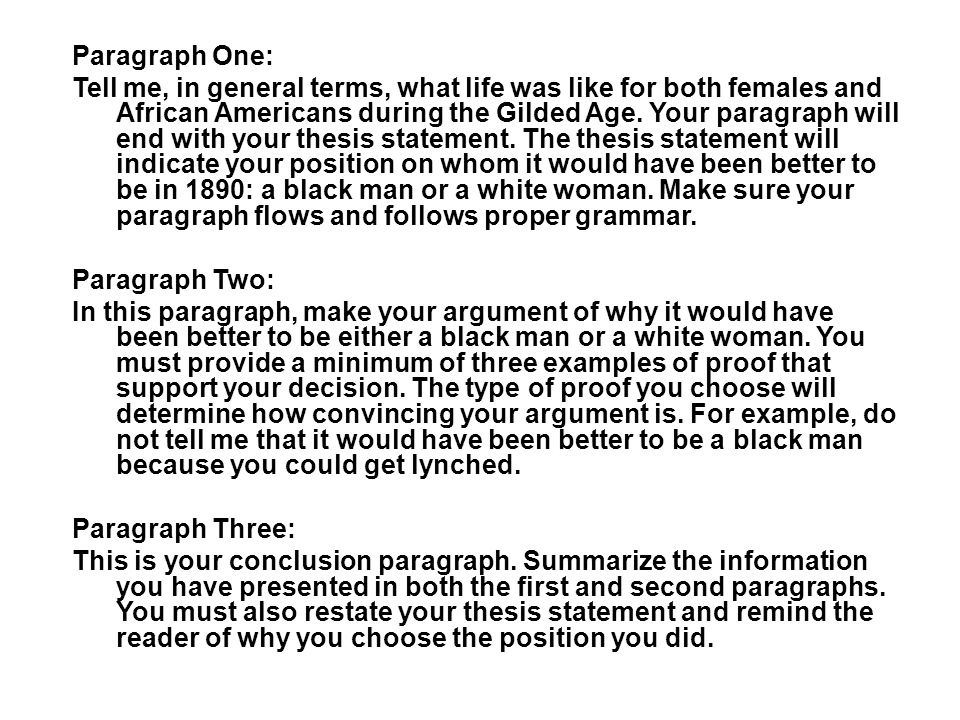 discrimination essay thesis You will define discrimination in your essay using research and how  your  thesis statement is what you will be proving in the body of your paper - must  define.