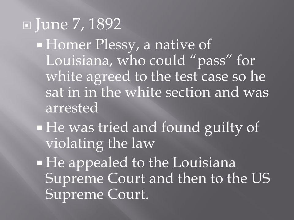 June 7, 1892