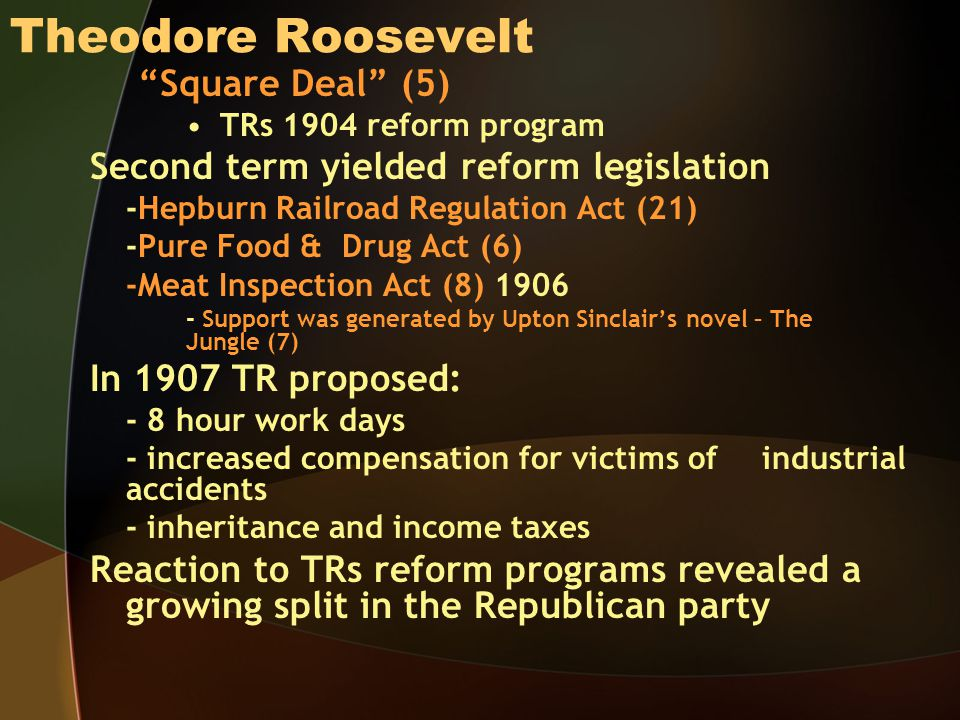 Theodore Roosevelt Square Deal (5)