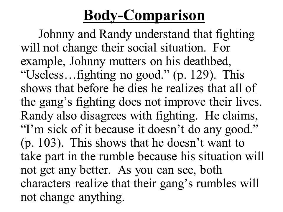 Body-Comparison