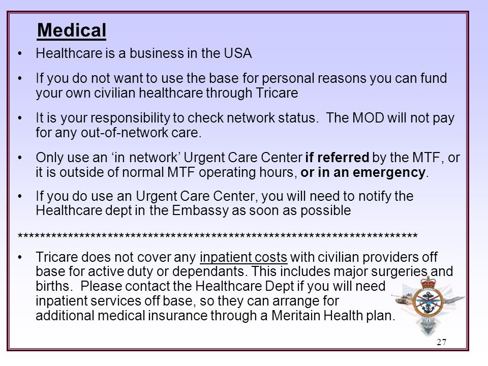 Medical Healthcare is a business in the USA.