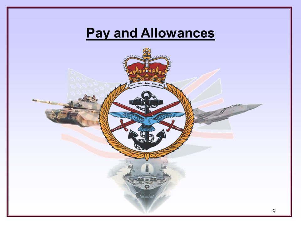 Pay and Allowances