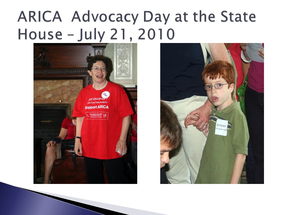 ARICA Advocacy Day at the State House – July 21, 2010