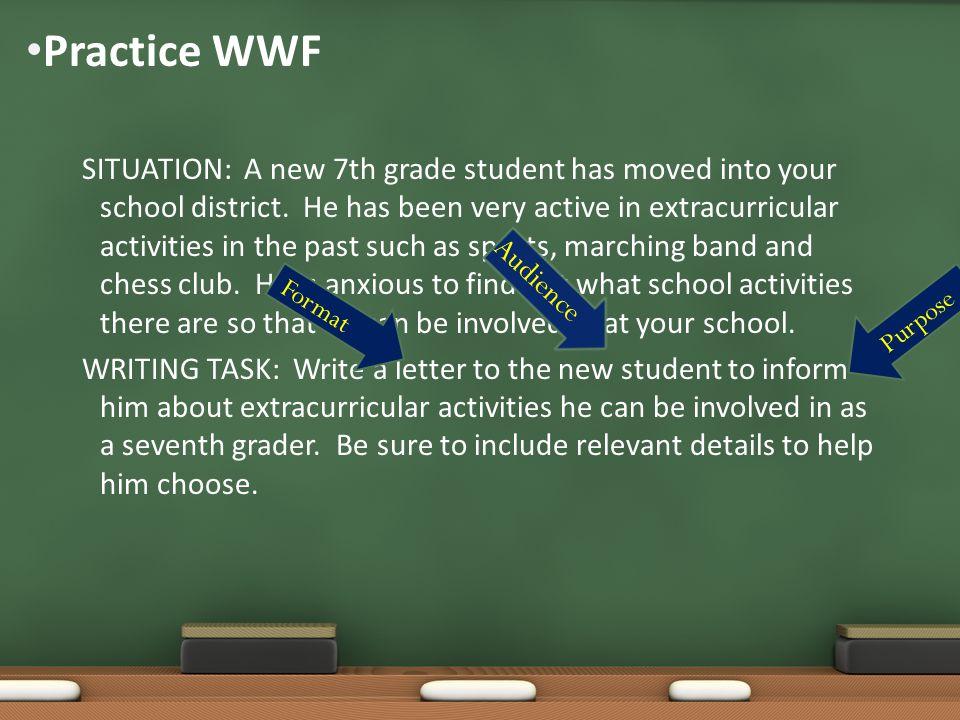 Practice WWF