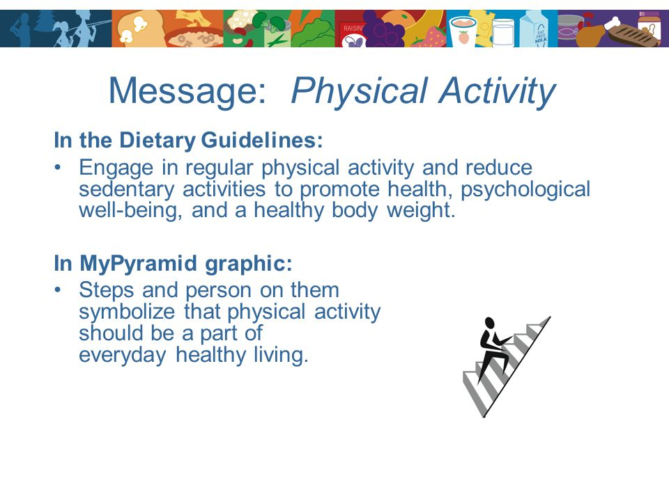 Message: Physical Activity