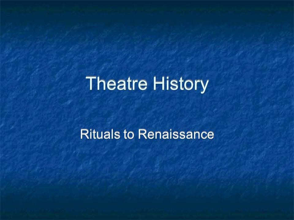 Rituals to Renaissance