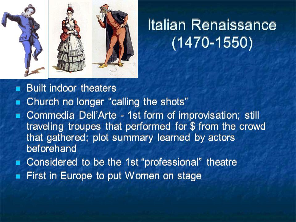 Italian Renaissance (1470-1550)
