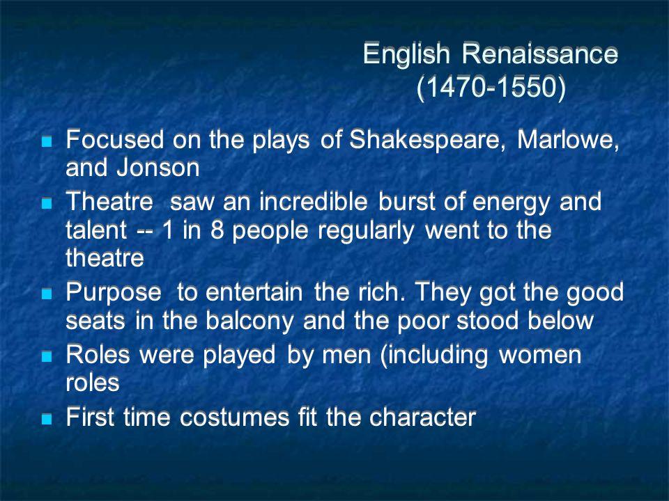English Renaissance (1470-1550)