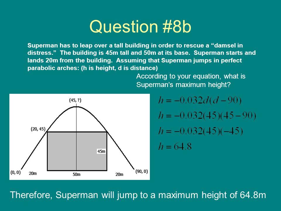 Question #8b