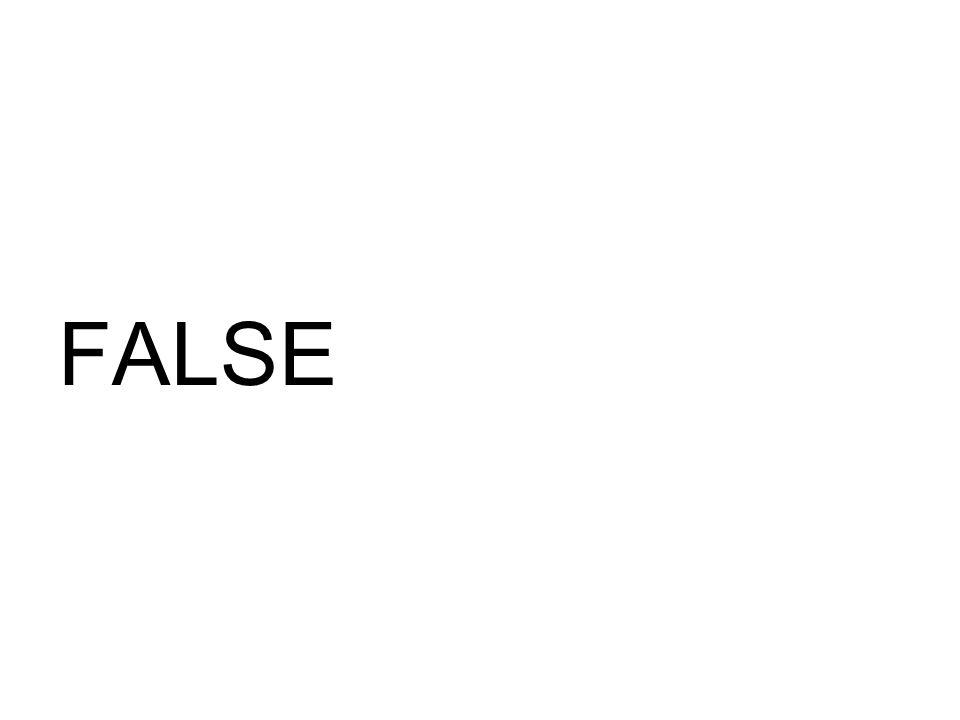FALSE