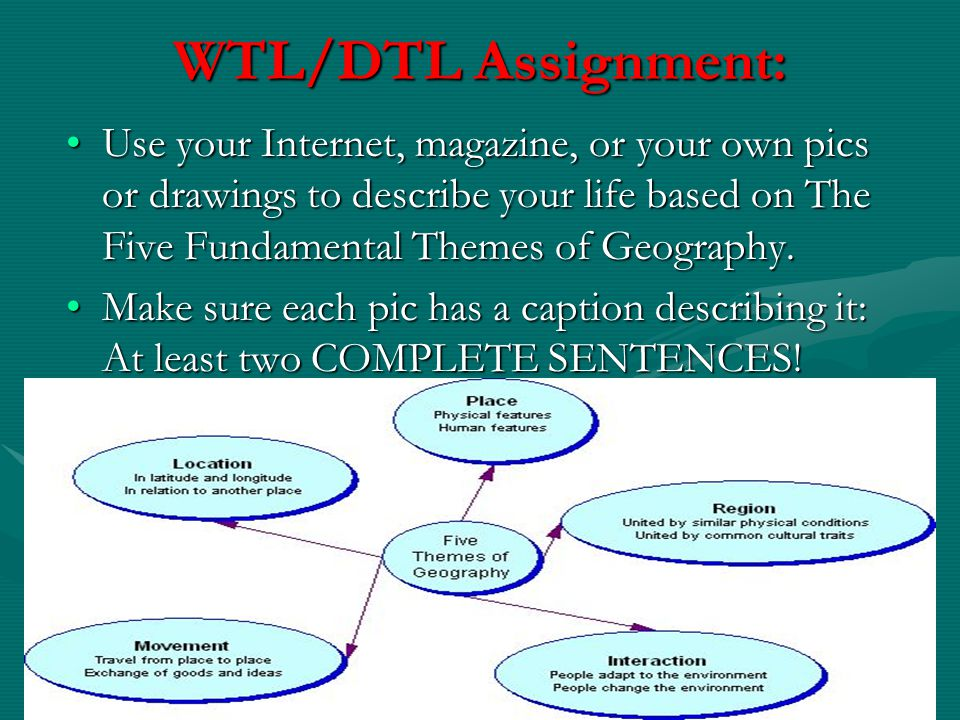 WTL/DTL Assignment: