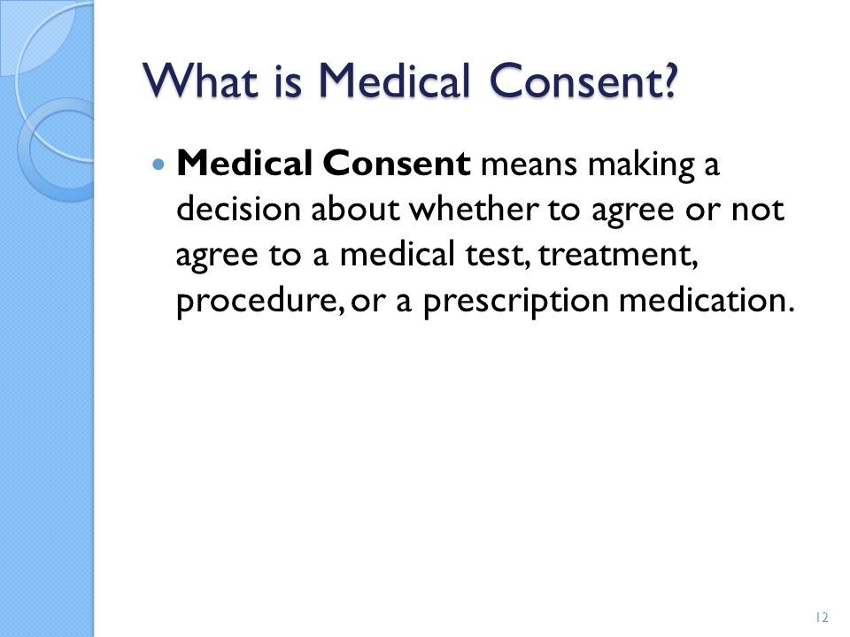 What is Medical Consent