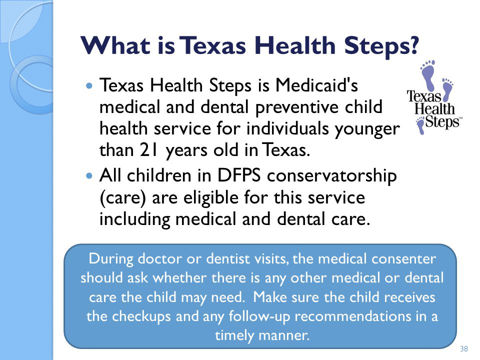 What is Texas Health Steps