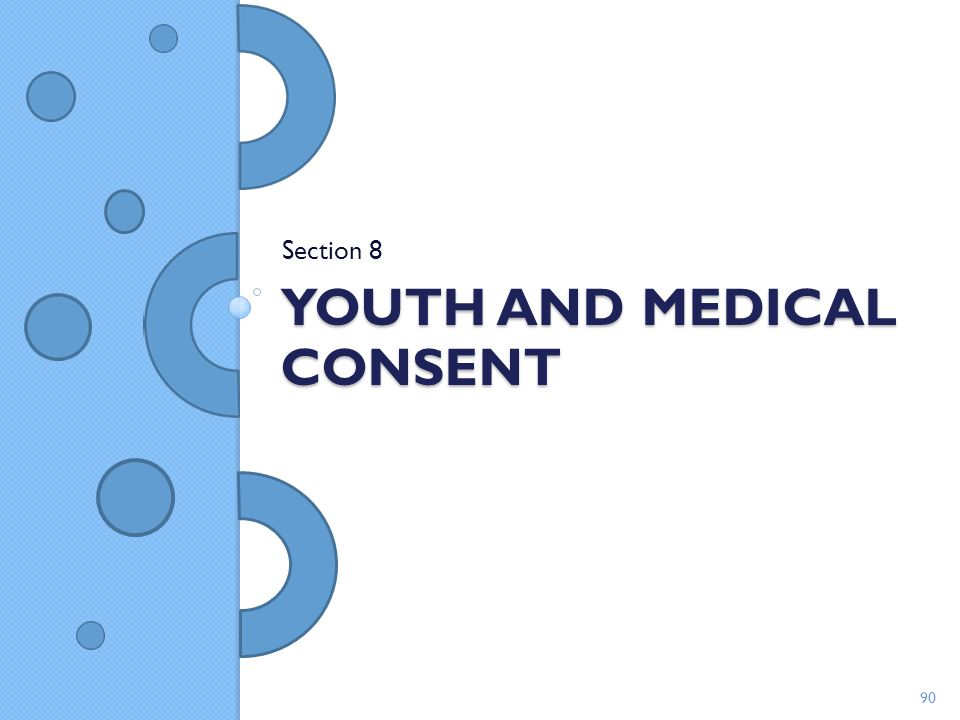 Youth and medical consent