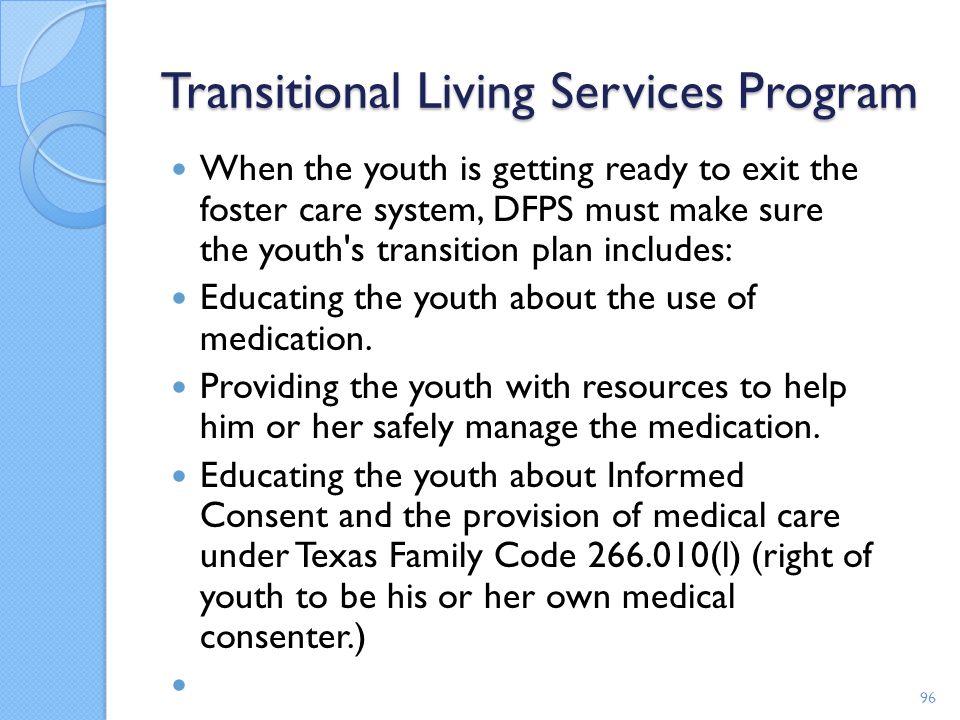 Transitional Living Services Program