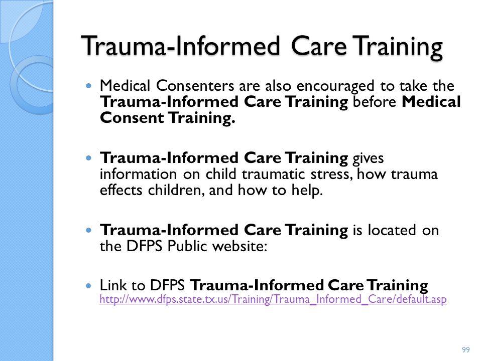 Trauma-Informed Care Training