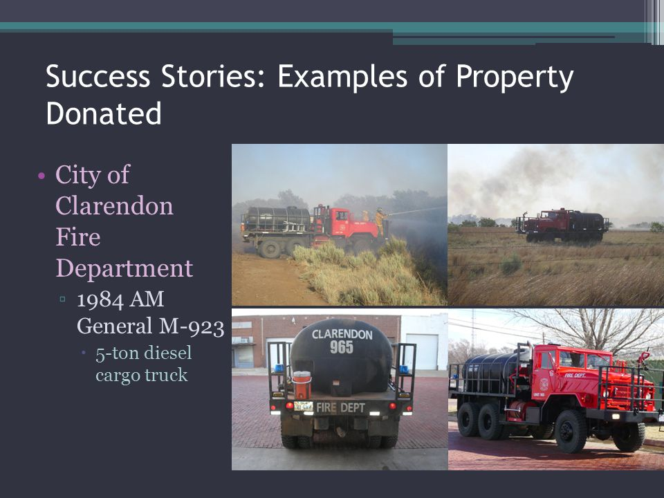 Success Stories: Examples of Property Donated