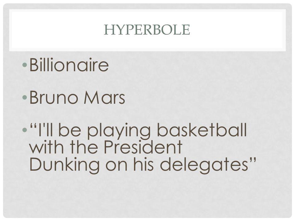 Billionaire Bruno Mars