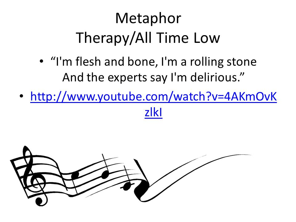 Metaphor Therapy/All Time Low