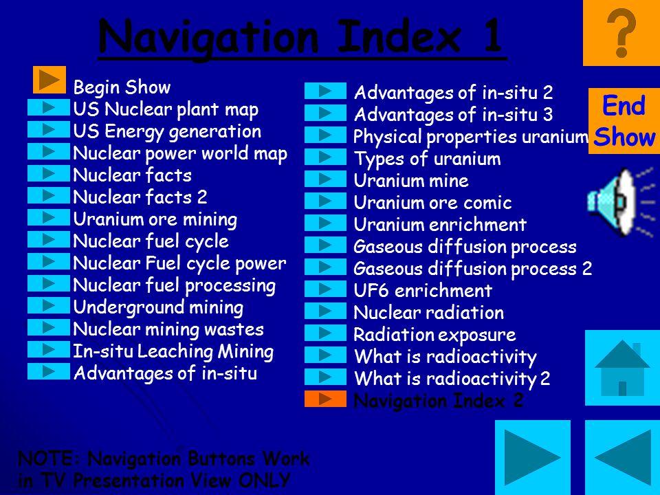 Navigation Index 1 End Show Begin Show Advantages of in-situ 2