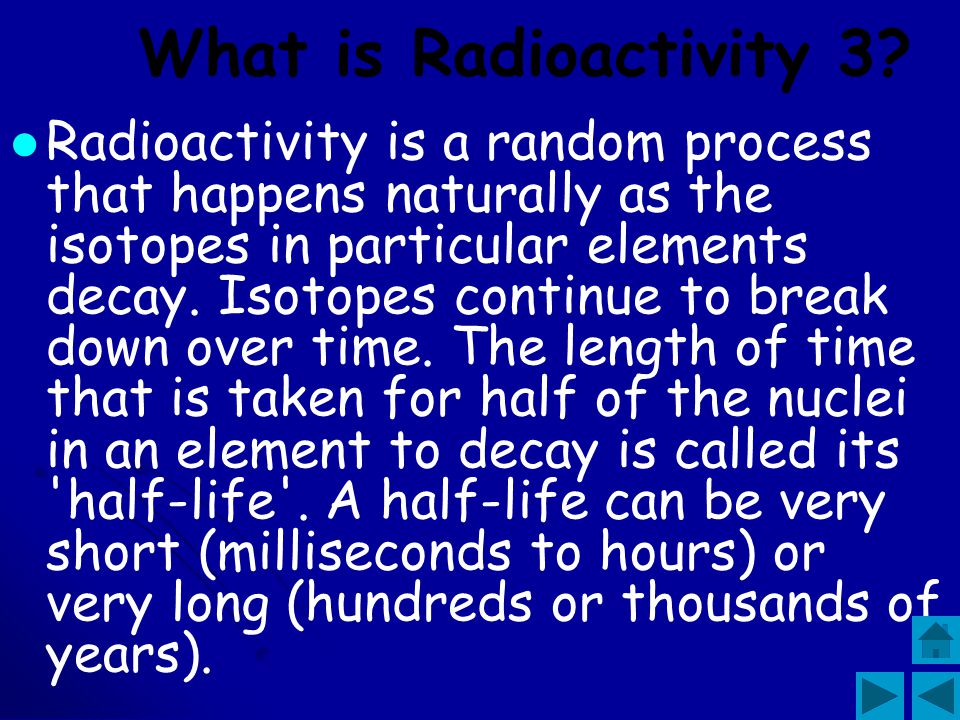 What is Radioactivity 3