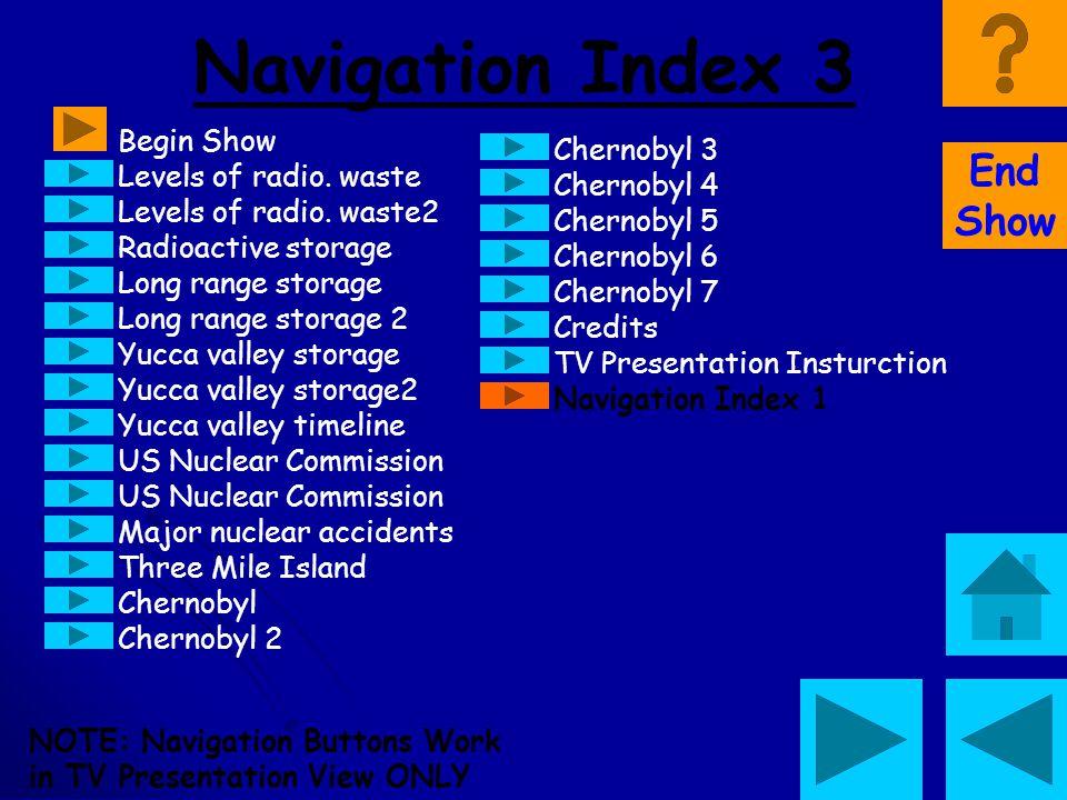 Navigation Index 3 End Show Begin Show Chernobyl 3