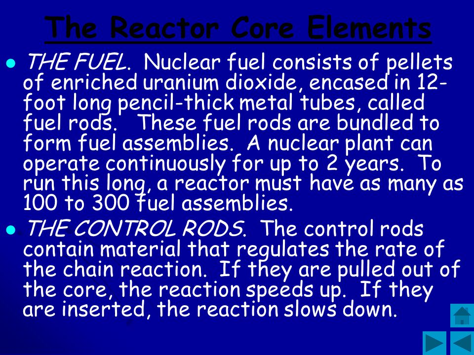 The Reactor Core Elements