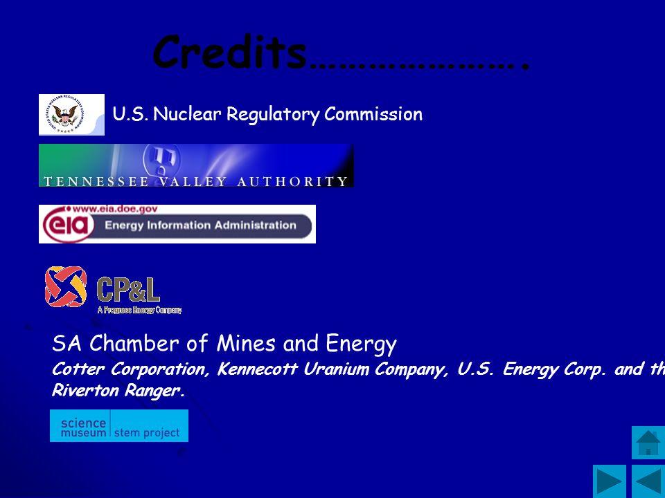 Credits…………………. SA Chamber of Mines and Energy