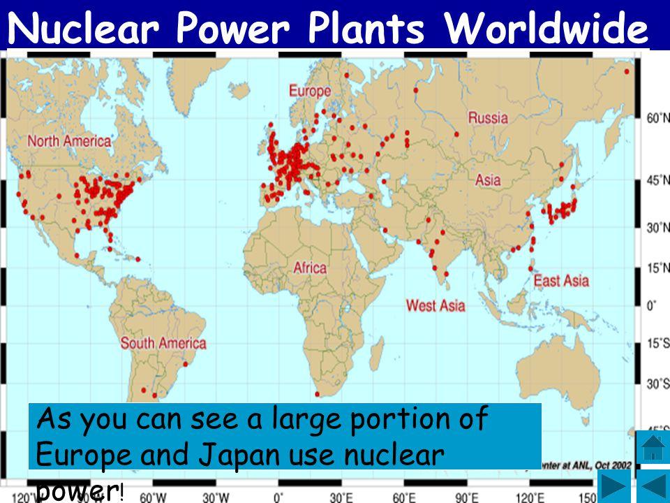 Nuclear Power Plants Worldwide