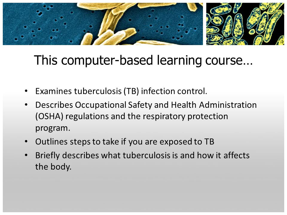 This computer-based learning course…