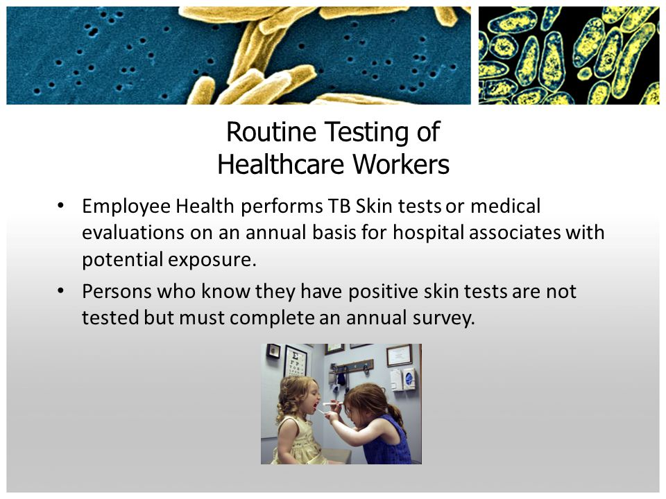 Routine Testing of Healthcare Workers