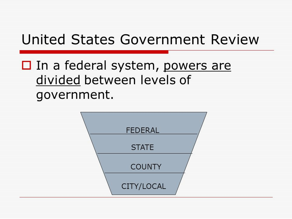 United States Government Review