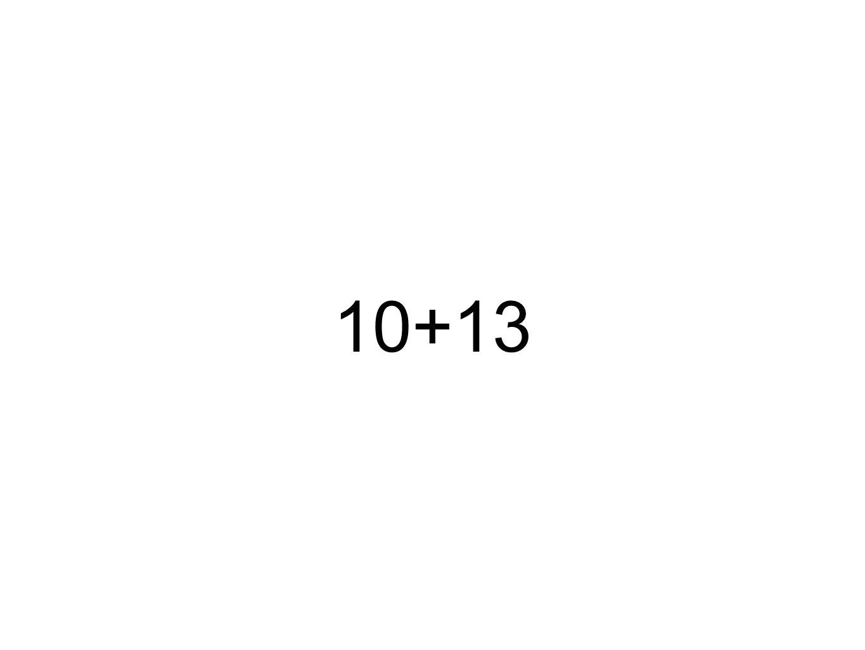 10+13