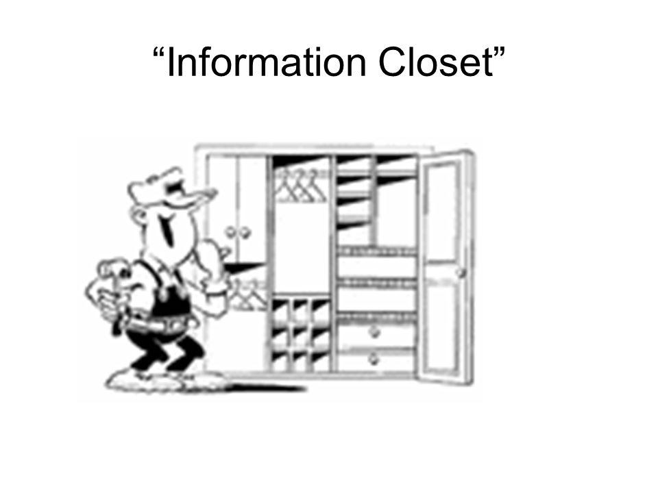 Information Closet