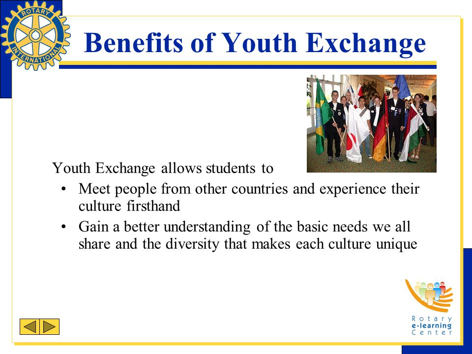 Benefits of Youth Exchange