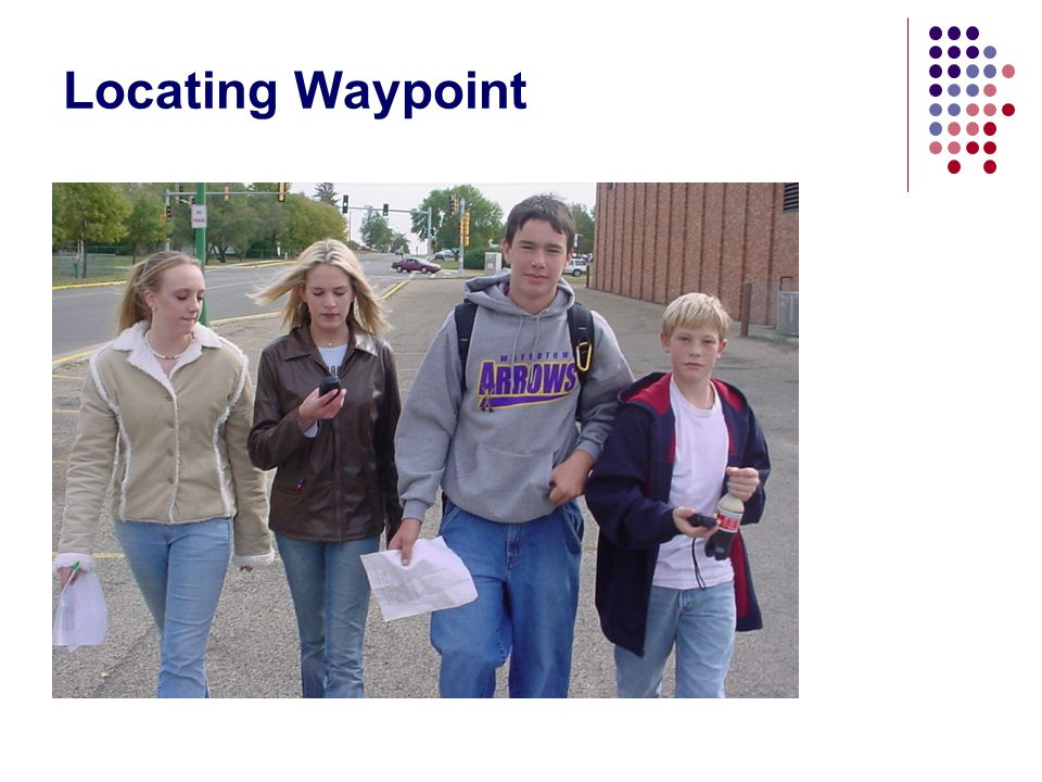 Locating Waypoint
