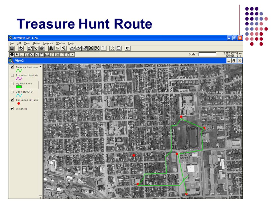 Treasure Hunt Route