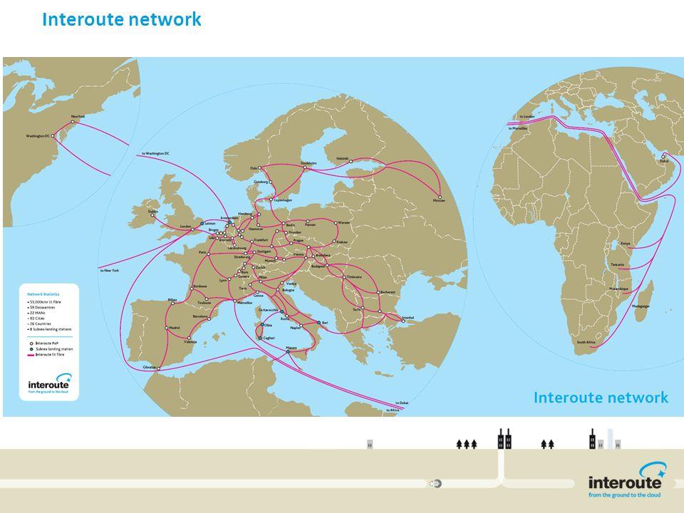 Interoute network Invitel International Network