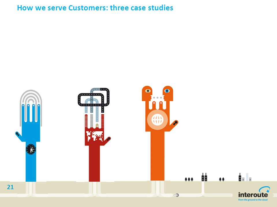 How we serve Customers: three case studies