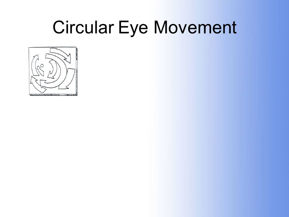 Circular Eye Movement
