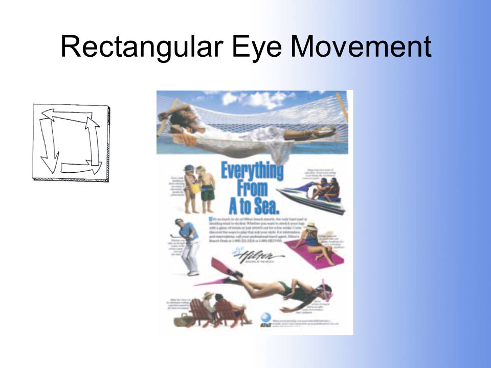 Rectangular Eye Movement
