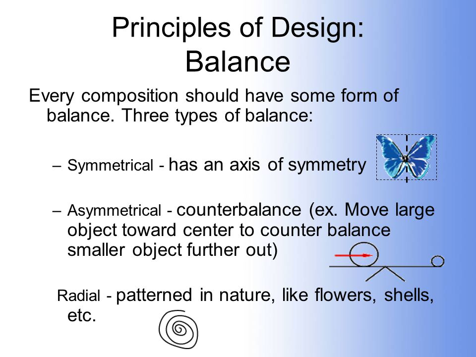 Principles Of Design Balance : The principles of visual design ppt video online download