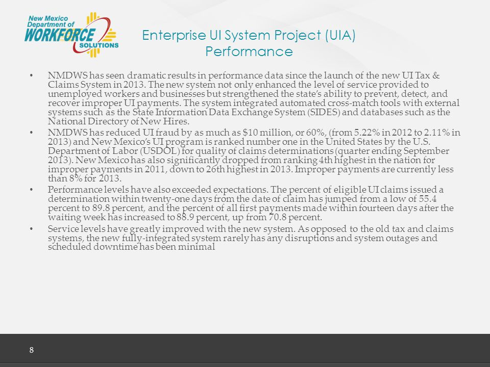 Enterprise UI System Project (UIA) Performance