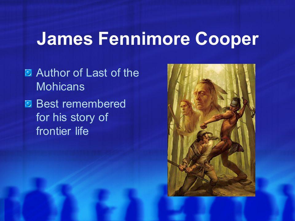 James Fennimore Cooper