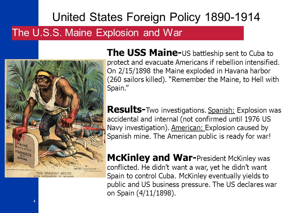 United States Foreign Policy 1890-1914